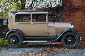 About The Model A Ford: Rob's 1928 Tudor