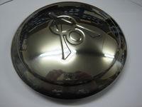 1934 Stainless Steel Hubcaps V8 Script