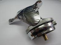 """1928/31 2-3/8"""" Ford Script Chrome Wreath Rim Junior Motormeter"""